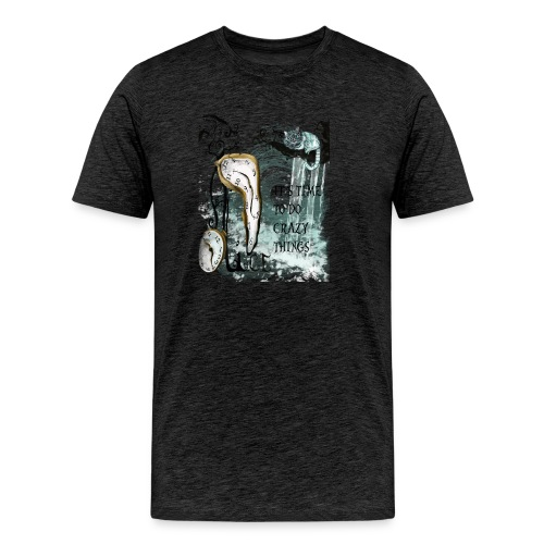 Alice the time.. - Camiseta premium hombre