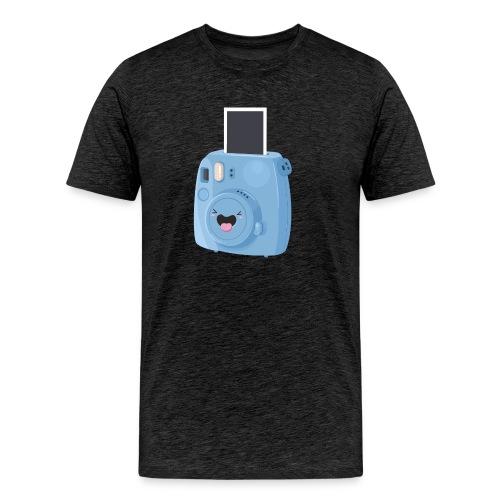 Appareil photo instantané bleu - T-shirt Premium Homme