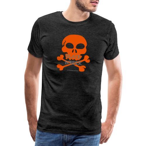 Black Bobber - Chopper Skull Totenkopf -Jackseven - Männer Premium T-Shirt