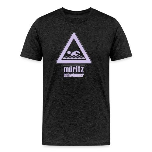 Mueritzswim13 - Männer Premium T-Shirt