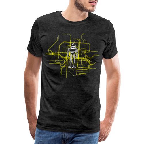 gambots roboter 09 - Männer Premium T-Shirt