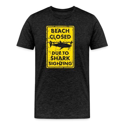 Surf T-Shirt Beach closed - Männer Premium T-Shirt