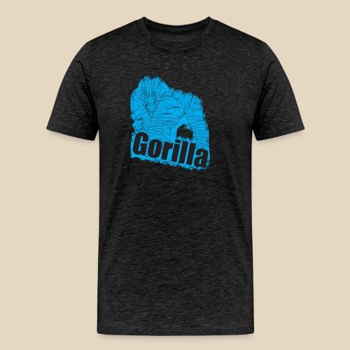 Blue Gorilla - T-shirt Premium Homme