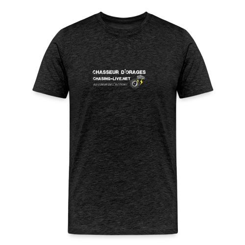Logo Tshirt front png - T-shirt Premium Homme
