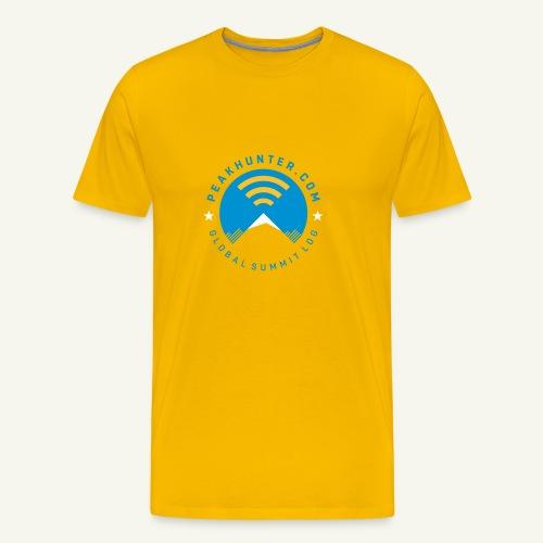 Peakhunter Global Summit Log - Männer Premium T-Shirt