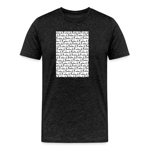 Muster#7 - Männer Premium T-Shirt