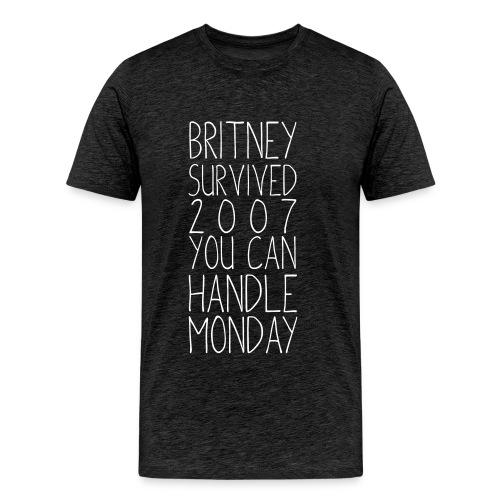 Britney Monday - Men's Premium T-Shirt