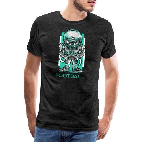 funky football - Männer Premium T-Shirt