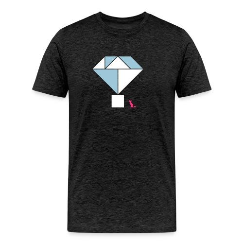 En mode tangram - Diamond - T-shirt Premium Homme