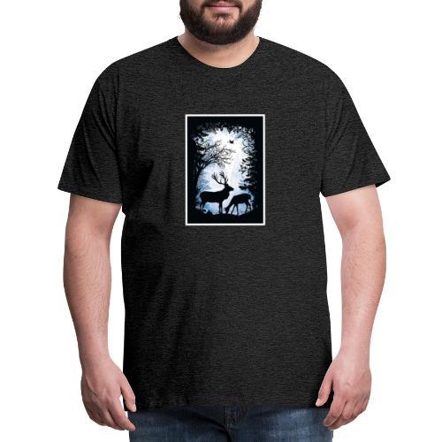 Forêt - T-shirt Premium Homme