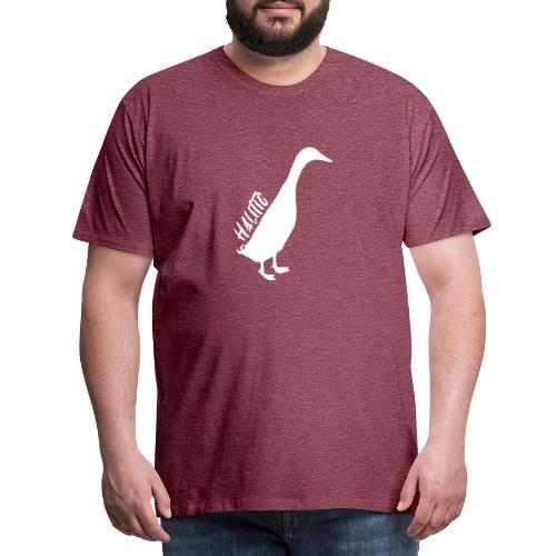 halitic Runnerduck - Männer Premium T-Shirt