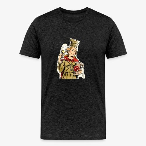 Petronilla Schnitt Apitz - Männer Premium T-Shirt
