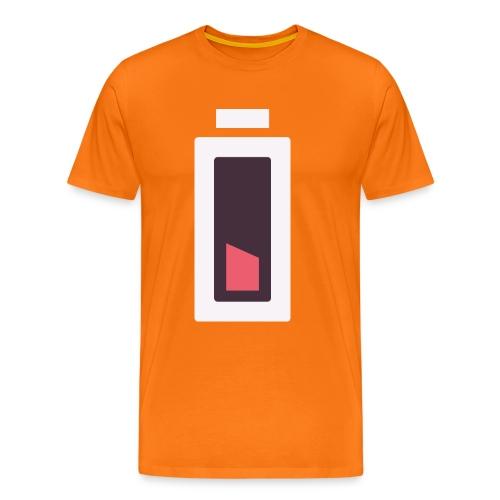 Batterie - Plus d'énergie... - T-shirt Premium Homme
