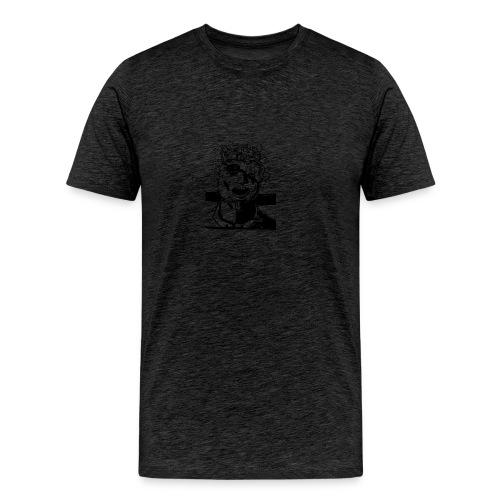 mindblownface1 - Mannen Premium T-shirt