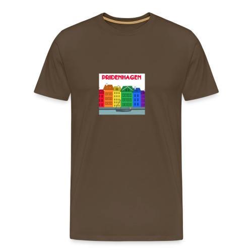 PRIDENHAGEN RETRO T-SHIRT - Herre premium T-shirt