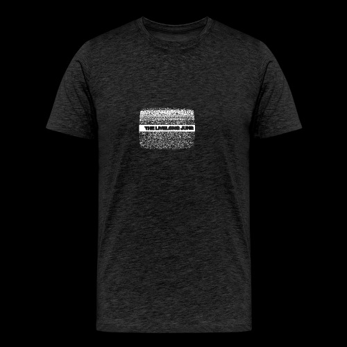 The Livelong June - Logo on white noise - Premium-T-shirt herr