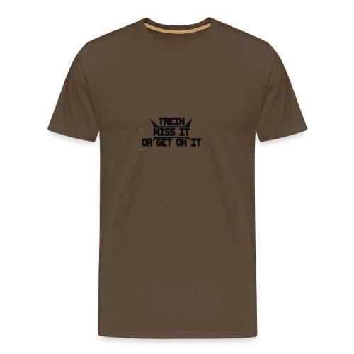 MISS-HIT - Miesten premium t-paita
