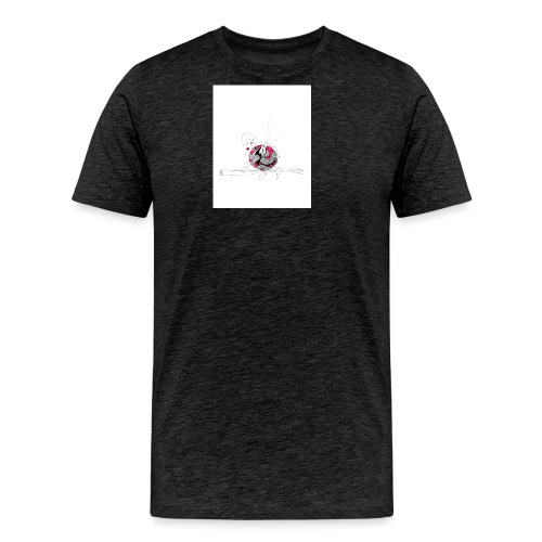 red lady - Men's Premium T-Shirt