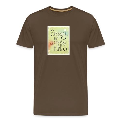 LITTLE_THINGS - Mannen Premium T-shirt