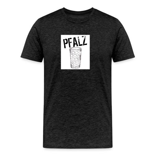 Pfalzshirt mit Dubbeglas, weiß - Männer Premium T-Shirt