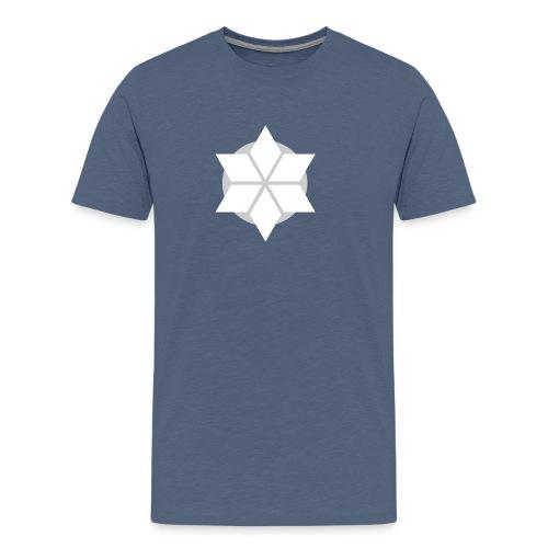 Morgonstjärnan - Premium-T-shirt herr
