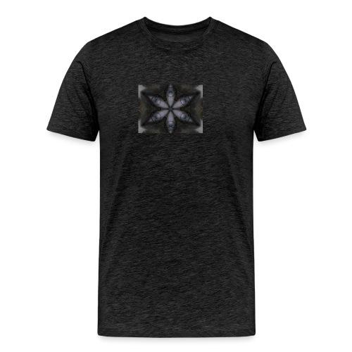 flor hipster - Camiseta premium hombre