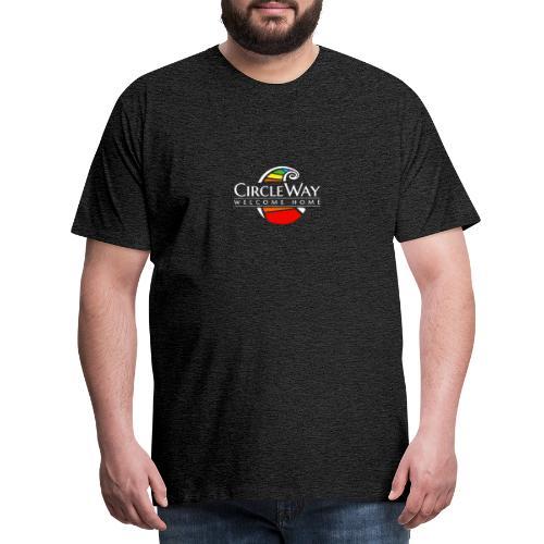 Circleway Welcome Home Logo – weiß - Männer Premium T-Shirt