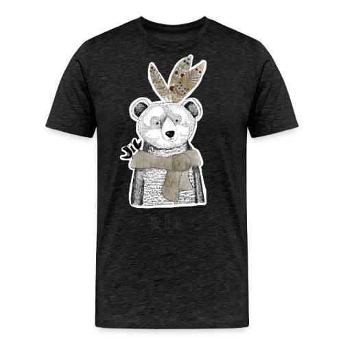 Mr. Bear - Männer Premium T-Shirt
