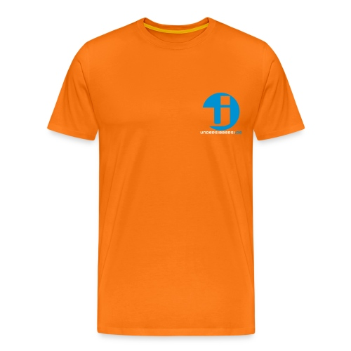 Logo Normal Brust - Männer Premium T-Shirt