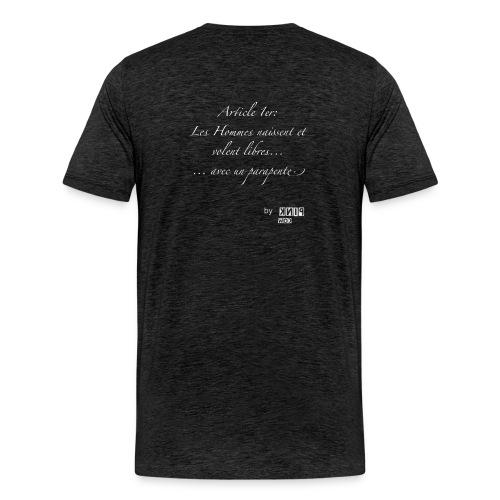 Liberté2.png - T-shirt Premium Homme