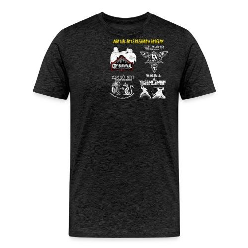 MARAtshirtnormal negativ - Männer Premium T-Shirt