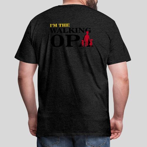 The Walking Opa 1 - Männer Premium T-Shirt
