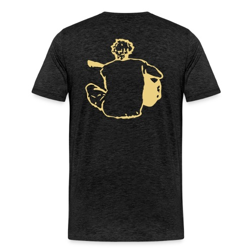William White backnostar logo - Men's Premium T-Shirt