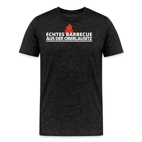 Smoked_logo_color - Männer Premium T-Shirt