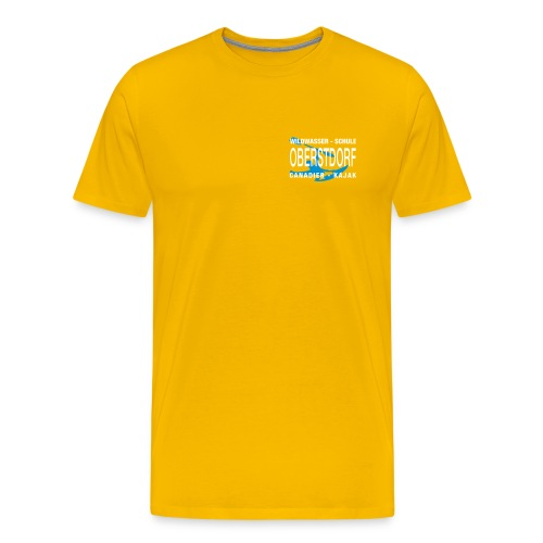 WWSO Logo Weis - Männer Premium T-Shirt