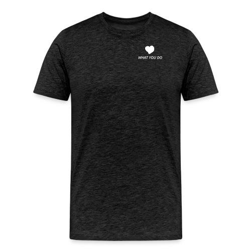 Love_heart_ohne TW - Männer Premium T-Shirt