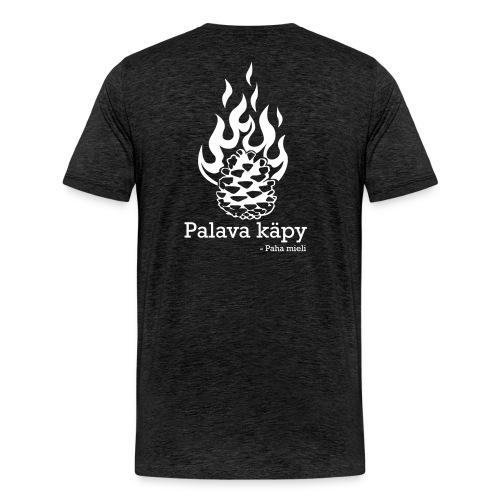 Palava käpy - Miesten premium t-paita