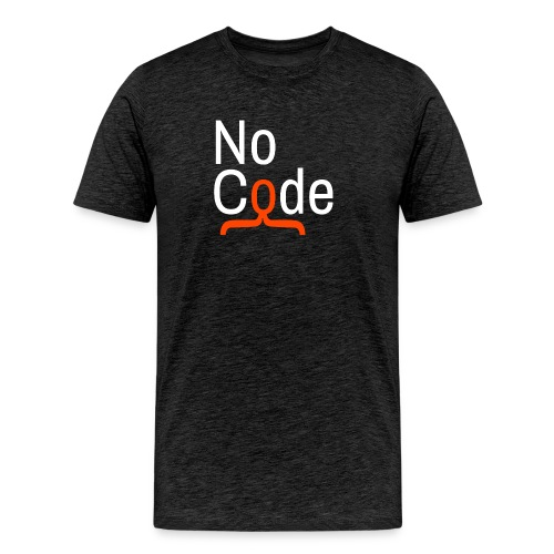 We love NoCode superpowers (front & side print) - Men's Premium T-Shirt