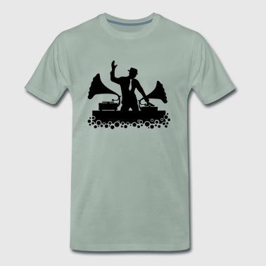 DJ, Grammophon, Swing, Musik, Tanz, Electro, Club - Männer Premium T-Shirt