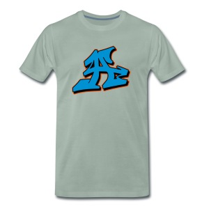 Graffiti Blockletter A - Männer Premium T-Shirt