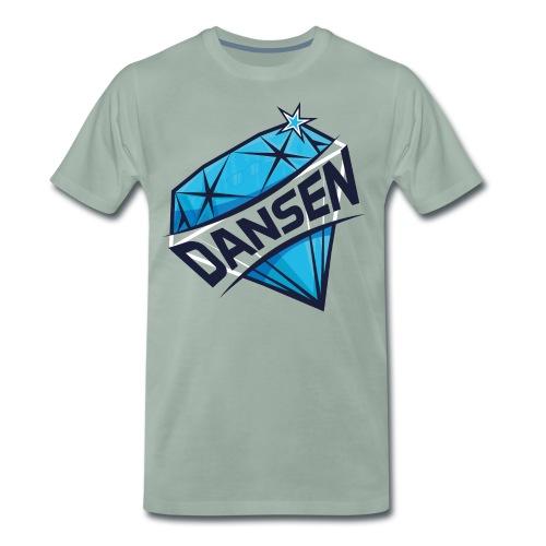 Dansen Logo Full Print - Männer Premium T-Shirt