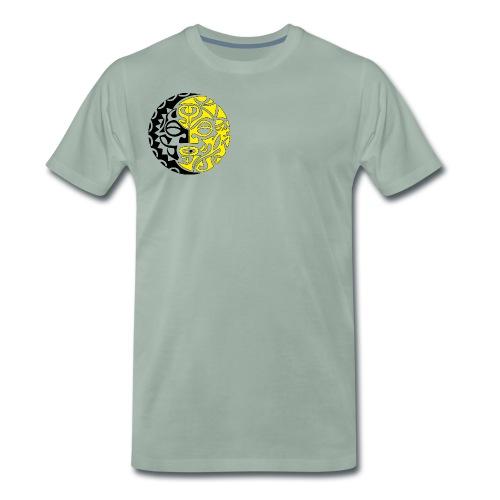 sole tribale - Maglietta Premium da uomo