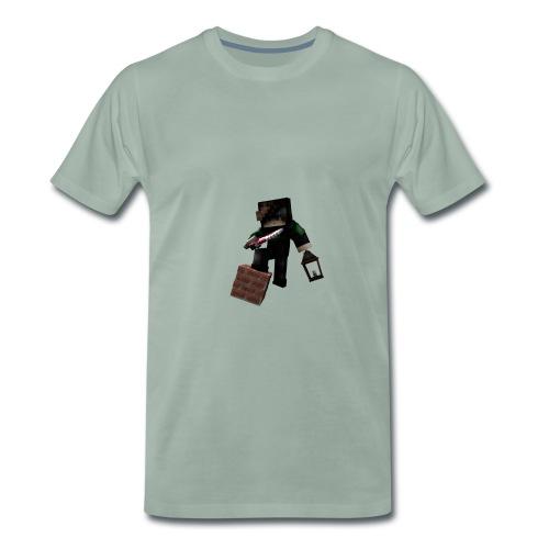 Das ist ein Skinrender von dem YouTuber Julx - Männer Premium T-Shirt