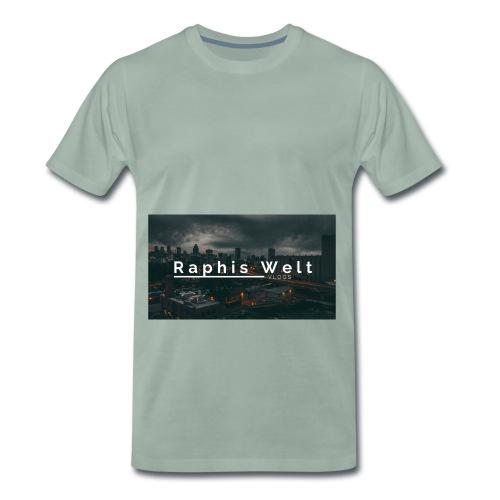 Original Raphis Welt Kanalbanner - Männer Premium T-Shirt