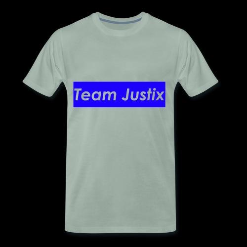 Team Justix im Supremestyle (blau) - Männer Premium T-Shirt