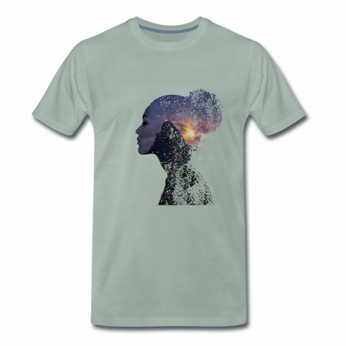 In der Ruhe liegt die Kraft - Männer Premium T-Shirt
