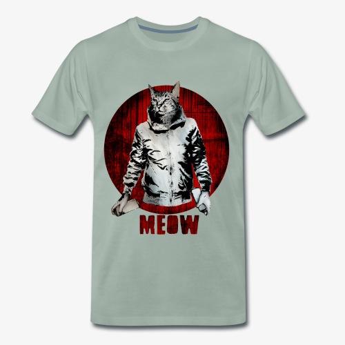 Urban Cat - Männer Premium T-Shirt