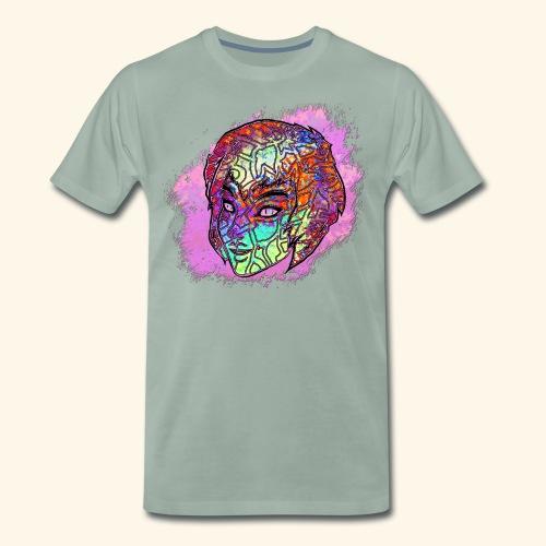 PS Colorful Face - Men's Premium T-Shirt