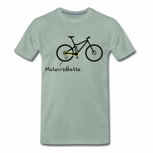 Mountainbike - Men's Premium T-Shirt