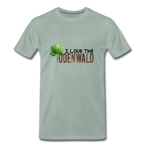 I Love The Odenwald - Männer Premium T-Shirt